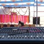 S.M. sound system and lighting